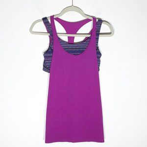 Lululemon All Sport Support Tank Top Ultra Violet